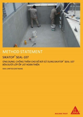 chống thấm sika top seal 107