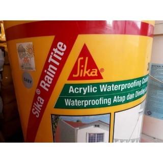 Sika raintite sản phẩm chống thấm số 1 cho tường đứng